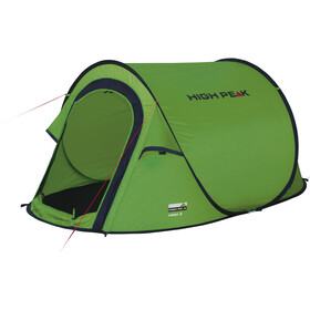 High Peak Vision 2 Zelt green/phantom